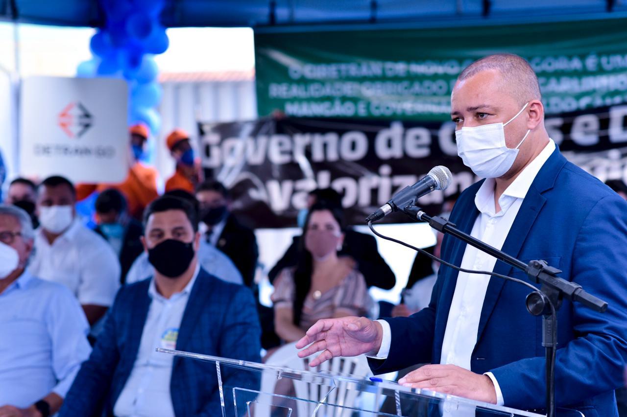 Marcos Roberto Silva, presidente do Detran-GO
