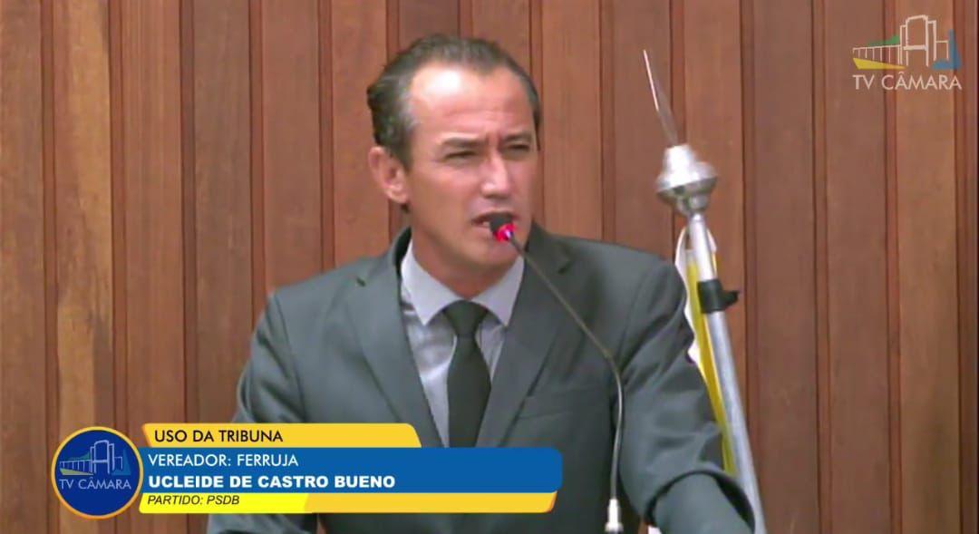 Vereador Ucleide Ferruja (PSDB)