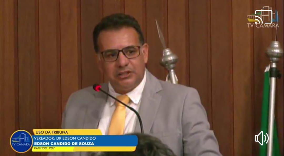 Vereador Dr. Edson Cândido (PDT)