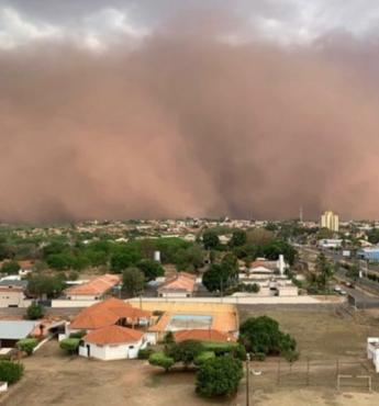 Tempestades de areia: previsão aponta possibilidade do fenômeno atingir Tocantins e Bahia