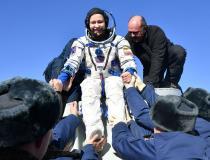 Missão russa gravou o primeiro filme de ficção fora do planeta