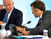 Presidentes dos EUA e da França discutem defesa europeia
