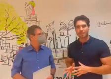 Dr. Dyego articula envio de recursos com Francisco Júnior para UPA de Trindade.