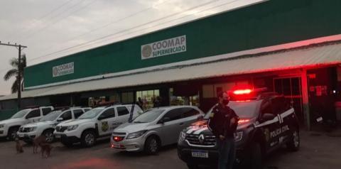Polícia Civil faz operação em Palminópolis para apurar furto de R$ 2,7 milhões de Cooperativa