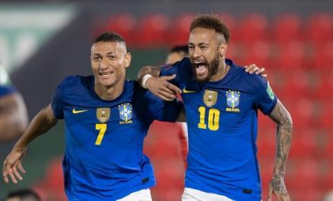 Neymar decide, Brasil vence o Paraguai e segue 100% na liderança das Eliminatórias da Copa do Mundo