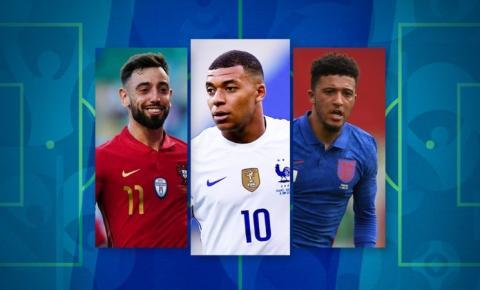 Seleção dos estreantes: veja dois times de craques que vão jogar a Eurocopa pela primeira vez