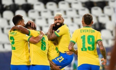 Brasil deslancha no 2º tempo, goleia o Peru e segue líder do grupo B da Copa América